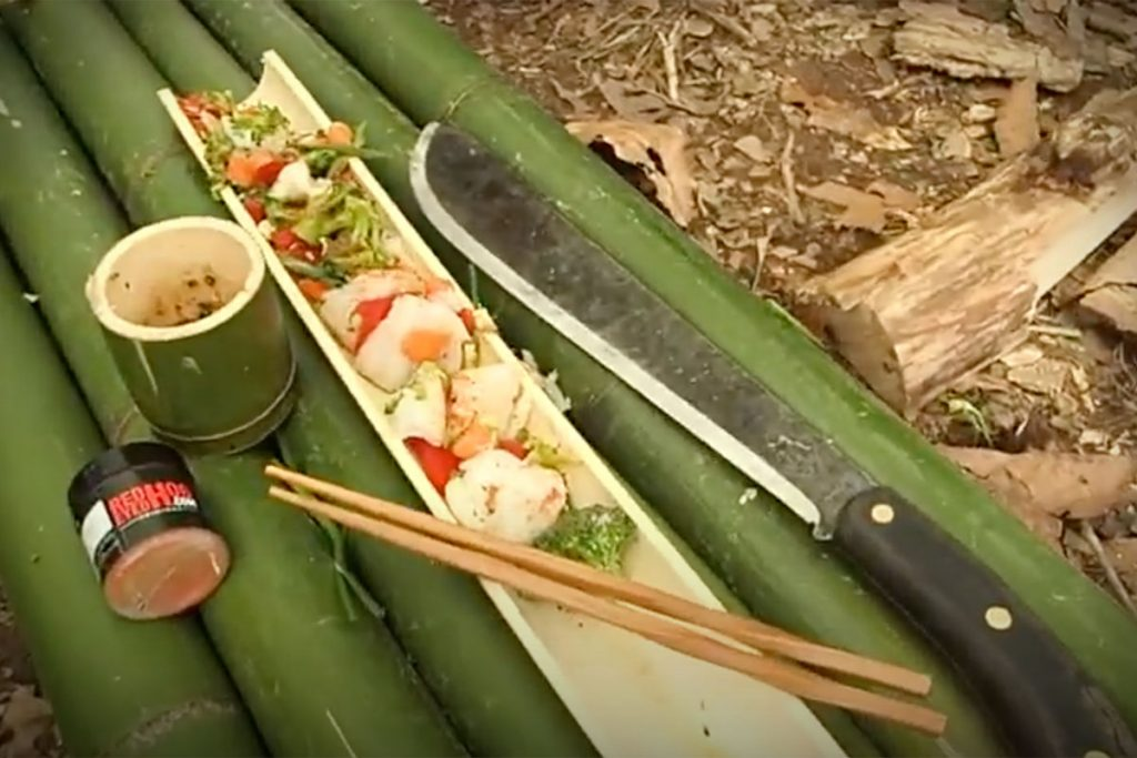 Video - Cooking in Bamboo